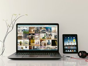 laptop and ipad