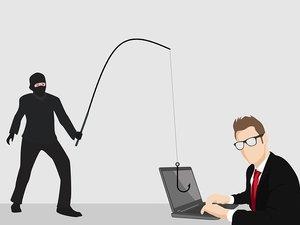 phishing illustration