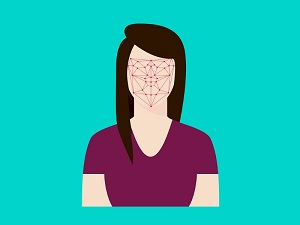 facial recognition drawing