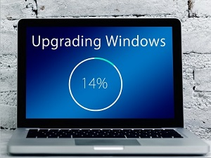 laptop upgrading windows