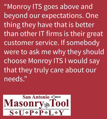 CASE STUDY | SAN ANTONIO MASONRY & TOOL SUPPLY | Monroy IT