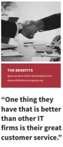 the benefits quote