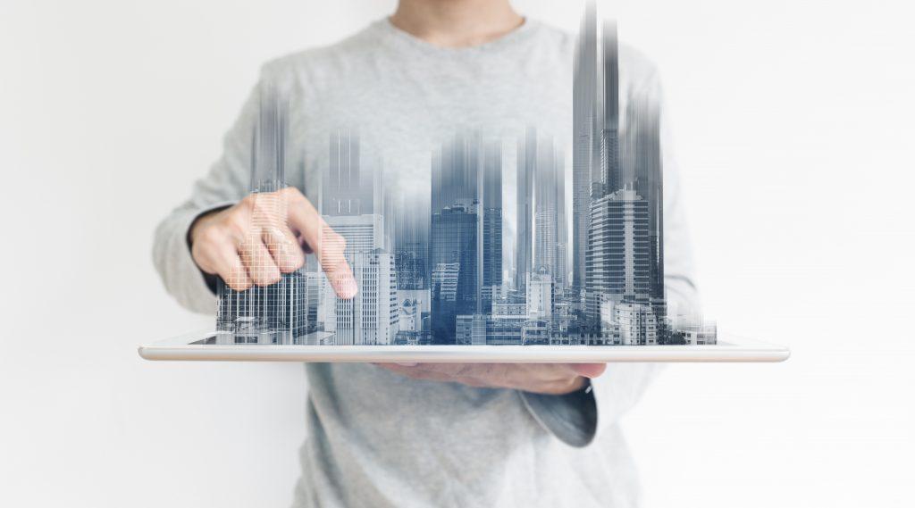 3d architecture concept